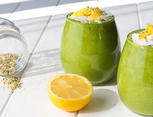 Tropical Mango & Coconut Smoothie