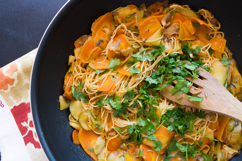 noodle stir-fry