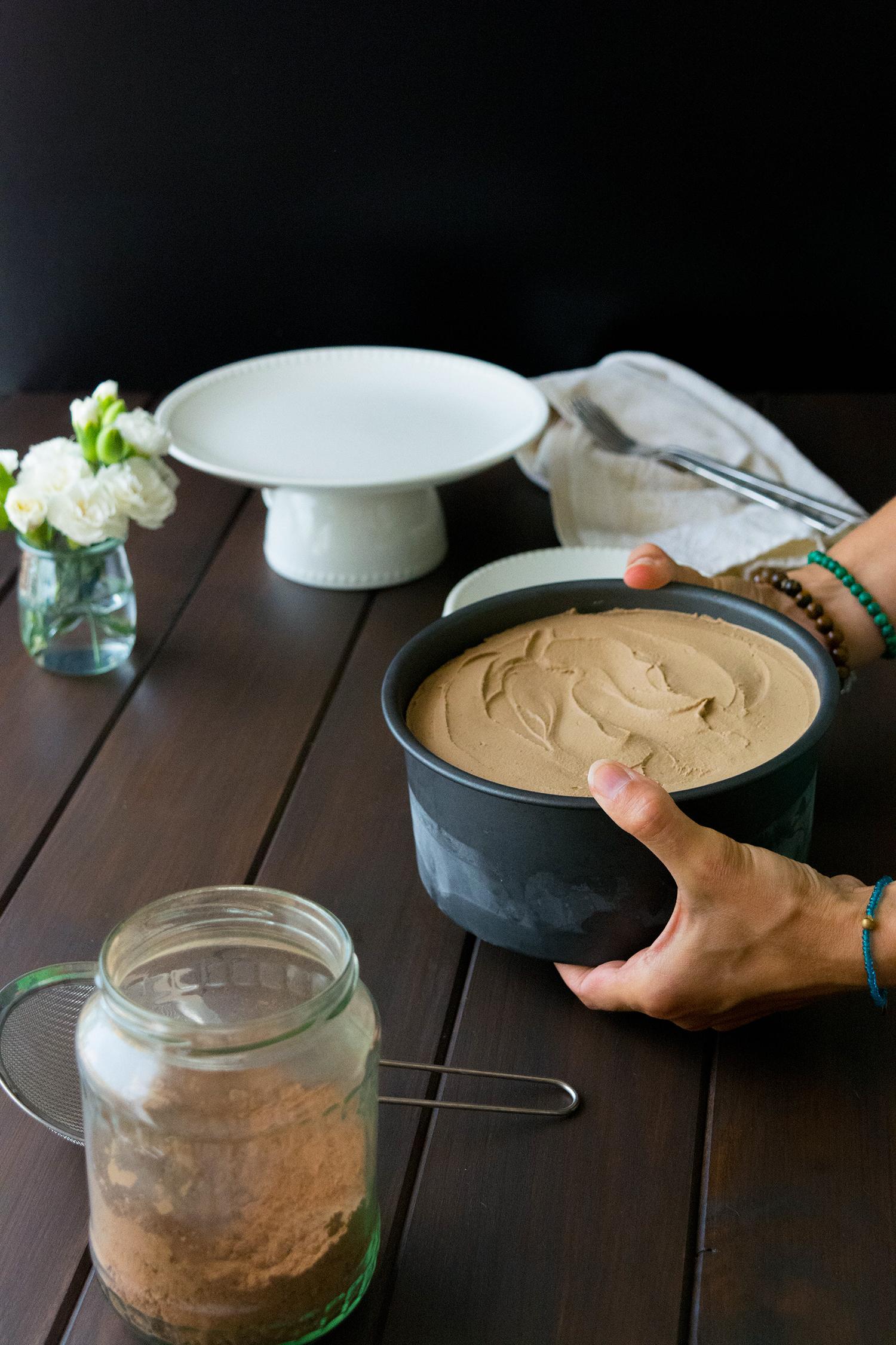 Mocha Coffee Cheesecake