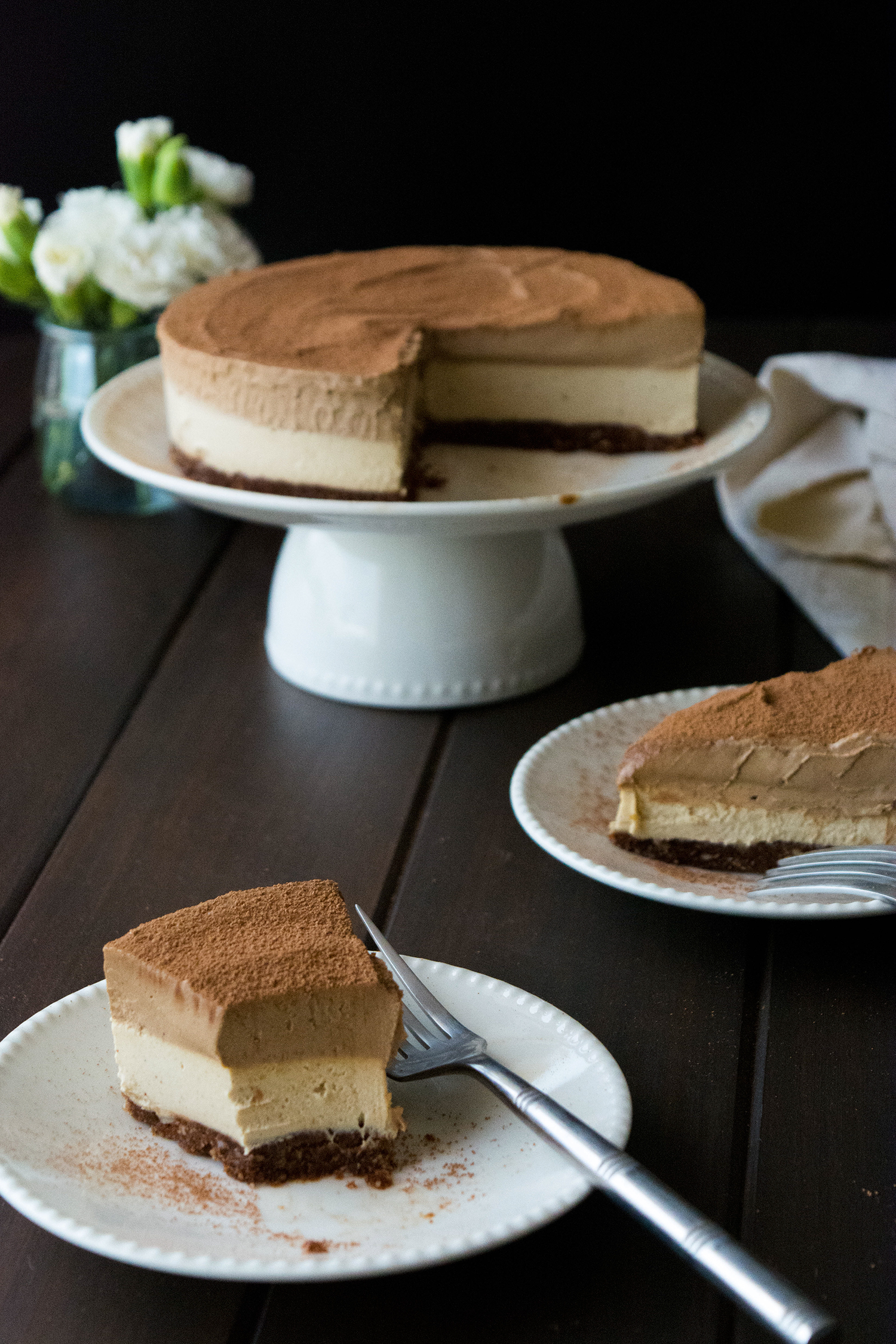 Mocha Coffee Cheesecake